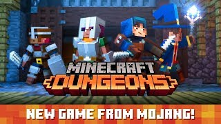 Minecraft Dungeons - Trailer d'annuncio