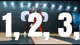 1, 2, 3 - Sofia Reyes - Jason Derulo - De La Ghetto - Coreografia Matias Orellana