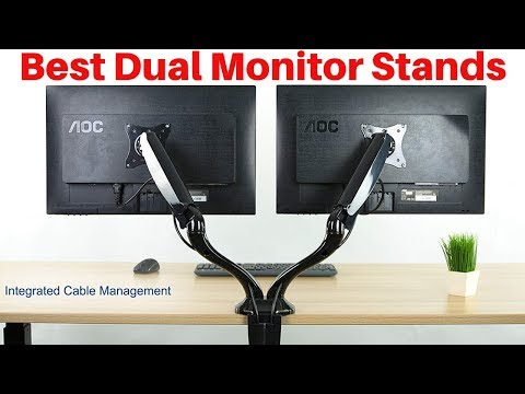 10 Best Dual Monitor Stands In 2019
