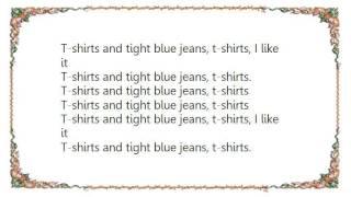 Divine - T-Shirts and Tight Blue Jeans Lyrics