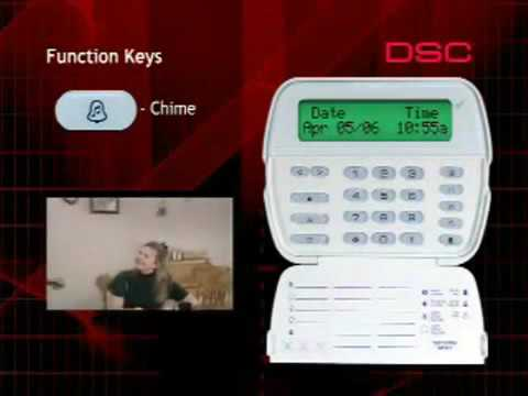 DSC Keypad Function Keys