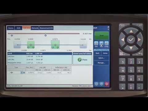 How to make fiber optic cable certification easy | iCert - YouTube