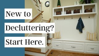 Decluttering for Beginners | 5 Decluttering Methods to Try Today