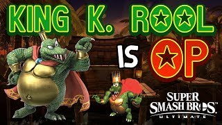 KING K. ROOL IS OP! - Smash Bros. Ultimate Montage
