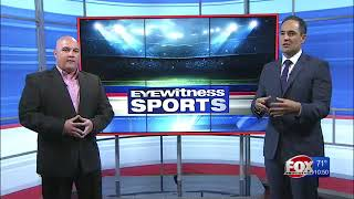 Ron Robert on WPRI 12's Eyewitness Sports with Yianni Kourakis