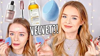 TESTING SPONSORED PRODUCTS- NOT SPONSORED 😂VELVET SPONGE, ICONIC DROPS etc | sophdoesnails
