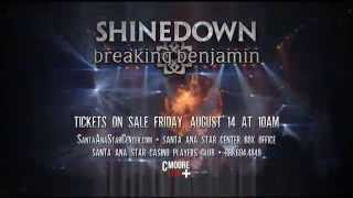 Shinedown and Breaking Benjamin - October 20 - Santa Ana Star Center