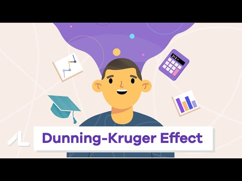 A fully animated video about the Dunning-Kruger Effect (Why stupid people think they are smart)