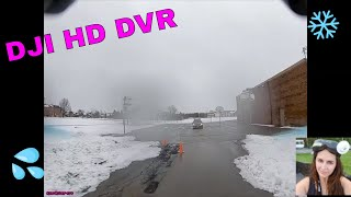 DVR of my first time flying the DJI HD FPV system