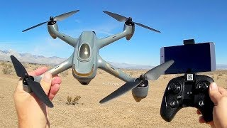 Hubsan H501M GPS Waypoints Follow Me and Circle Me Drone Flight Test Review