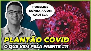 PODEMOS SONHAR COM O FIM DA PANDEMIA DE COVID?