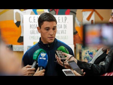 Ricca destaca el compromiso presentado por todo el equipo del Málaga