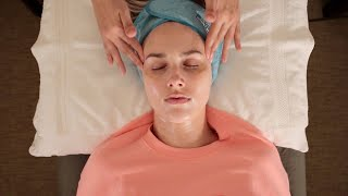 ASMR Facial - Fall Asleep, Deep Relaxation (whisper, Massage & Facial Cupping For Friend)