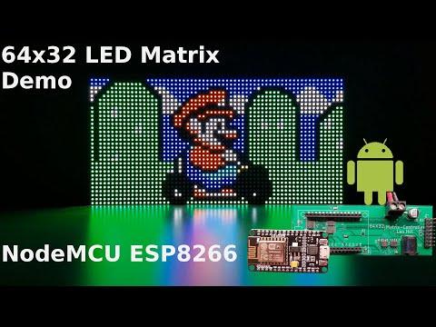 Nodemcu Neopixel Matrix