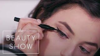 Testing $28 Pat McGrath Labs vs $8 Maybelline Liquid Eyeliners | Face Off | Harper's BAZAAR