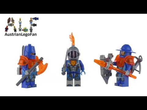 Vidéo LEGO Nexo Knights 853676 : Ensemble d'accessoires LEGO Nexo Knights