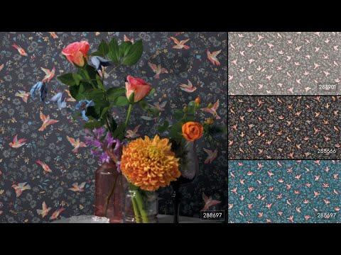 Відео Rasch Textil Petite Fleur 4