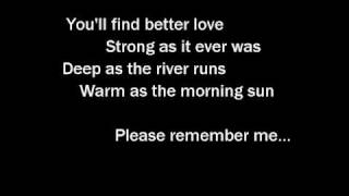 Tim McGraw   Please Remember Me   With Lyrics