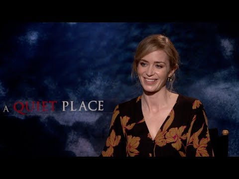 A QUIET PLACE Interviews: John Krasinski, Emily Blunt, Millicent Simmonds and Noah Jupe