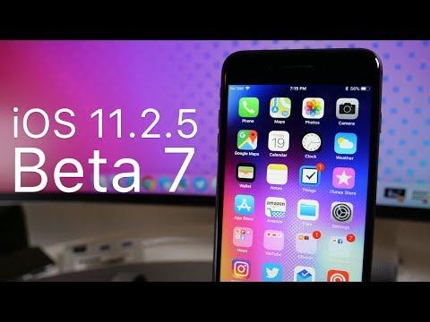 iOS 11.2.5 Beta 7 (GM) - 4K60P