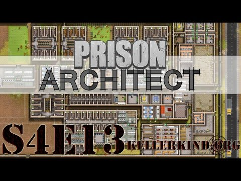 Prison Architect [HD] #057 – Der Ausbruch! ★ Let's Play Prison Architect