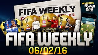 FIFA Weekly 06/02/16  Winter Transfers Teal Items Monkey Packs FIFA Bullshit