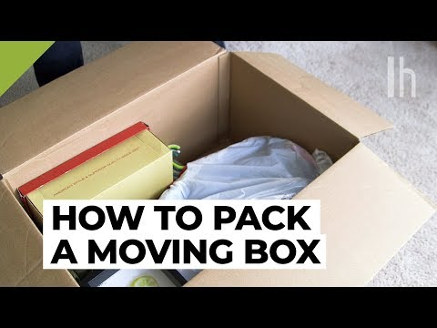 The Best Way To Pack A Moving Box