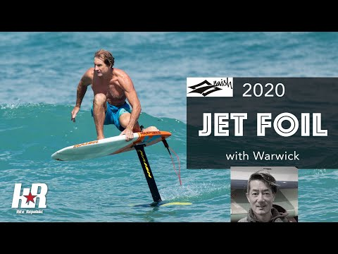 2020 Naish Jet Foil with Warwick