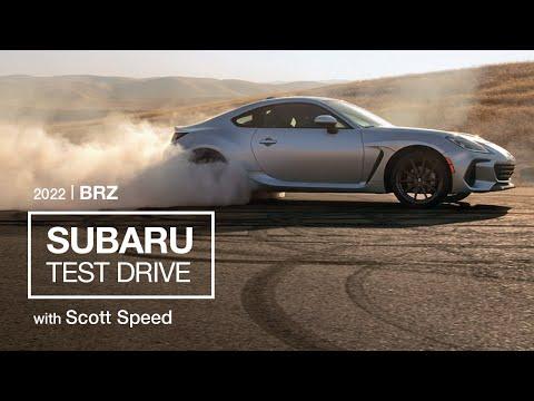 新型BRZの走行性能の高さがわかるテストドライブ映像初公開!スバルの新型BRZを実際にテストドライブする動画