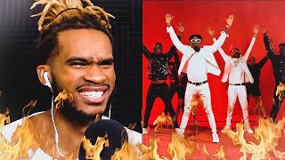 INNOSS 'B FT. DIAMOND PLATNUMZ   YOPE REMIX | REACTION VIDEO