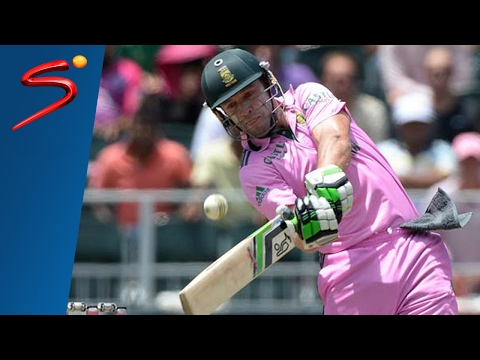 AB de Villiers fastest 100 of all time