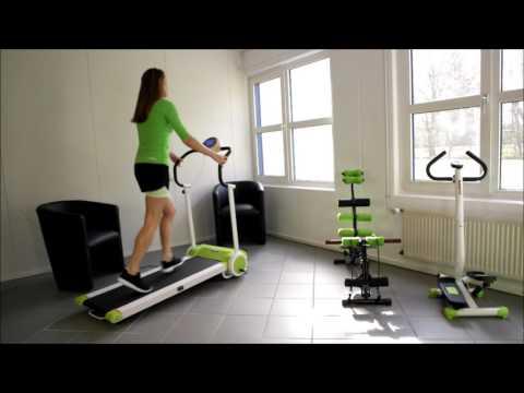 MAXOfit® Laufband Green MF-14, klappbar mit E- Motor
