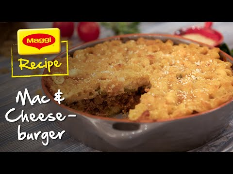 Mac and Cheeseburger Recipe. MAGGI Recipes