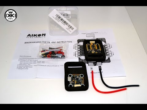 AIKON AK32 Flytower MINI STM32F405 35A Blheli_32 2-6S Brushless ESC Combo 20x20mm