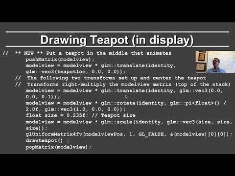 Online Graphics Course OpenGL 2: Animation (OpenGL 3+) ...