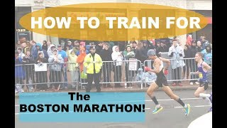 HOW TO TRAIN FOR THE BOSTON MARATHON | Sage Canaday Running Tips