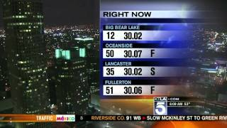 TV Weatherman Throws a Fit and Walks Off