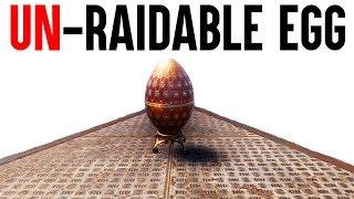 Rust Base Building - The Unraidable Egg - Rust Exploit Base Build (PATCHED)