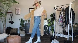 Winter Outfit Ideas Try On Haul; 10 Cozy Cute Winter Looks @delaneychilds