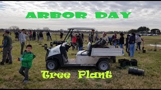 Arbor Day Tree Planting, Harris County Precinct 3. Jan 26, 2019