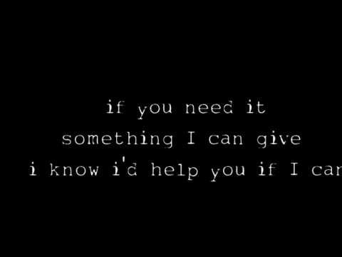 Oasis - Sad Song lyrics