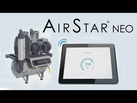 AirStar NEO Next Generation Air Compressor by Air Techniques