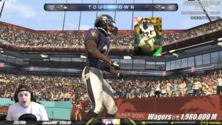 WAS THAT AN OUTRO?! (70K WAGER MATCH) - MADDEN 16 ULTIMATE TEAM