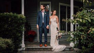 Rainy, Emotional, Boho Backyard Wedding Will Have You In Tears