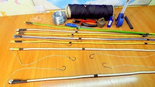 Рыболовные снасти на налима своими руками