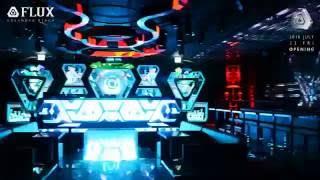 Flux Night Club Grand Opening Movie, DGX provides the irregular led display リニューアル事例