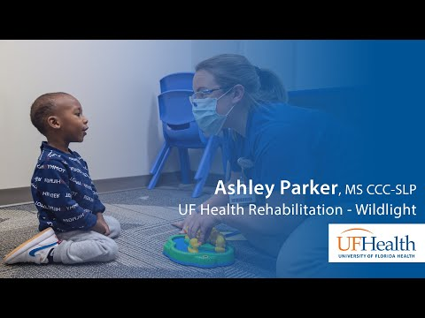 Love you, love you, love you: Speech therapist at UF Health Rehabilitation