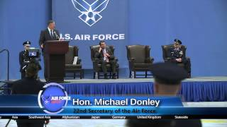 Secretary of the Air Force Farewell Ceremony