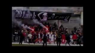 preview picture of video 'V jubileuszowy mecz Rugby kibice CZARNYCH 1910 JASŁO VS Klub Rugby Jaslo - 24 XII 2010'