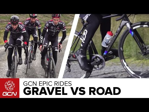 Gravel Bike vs Road Bike – What's The Difference? GCN's Epic Gravel Ride